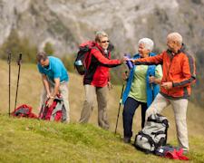 Wandern - gut gerüstet in die Berge